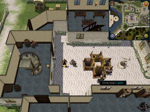 Scan clue Falador centre of Mining Guild