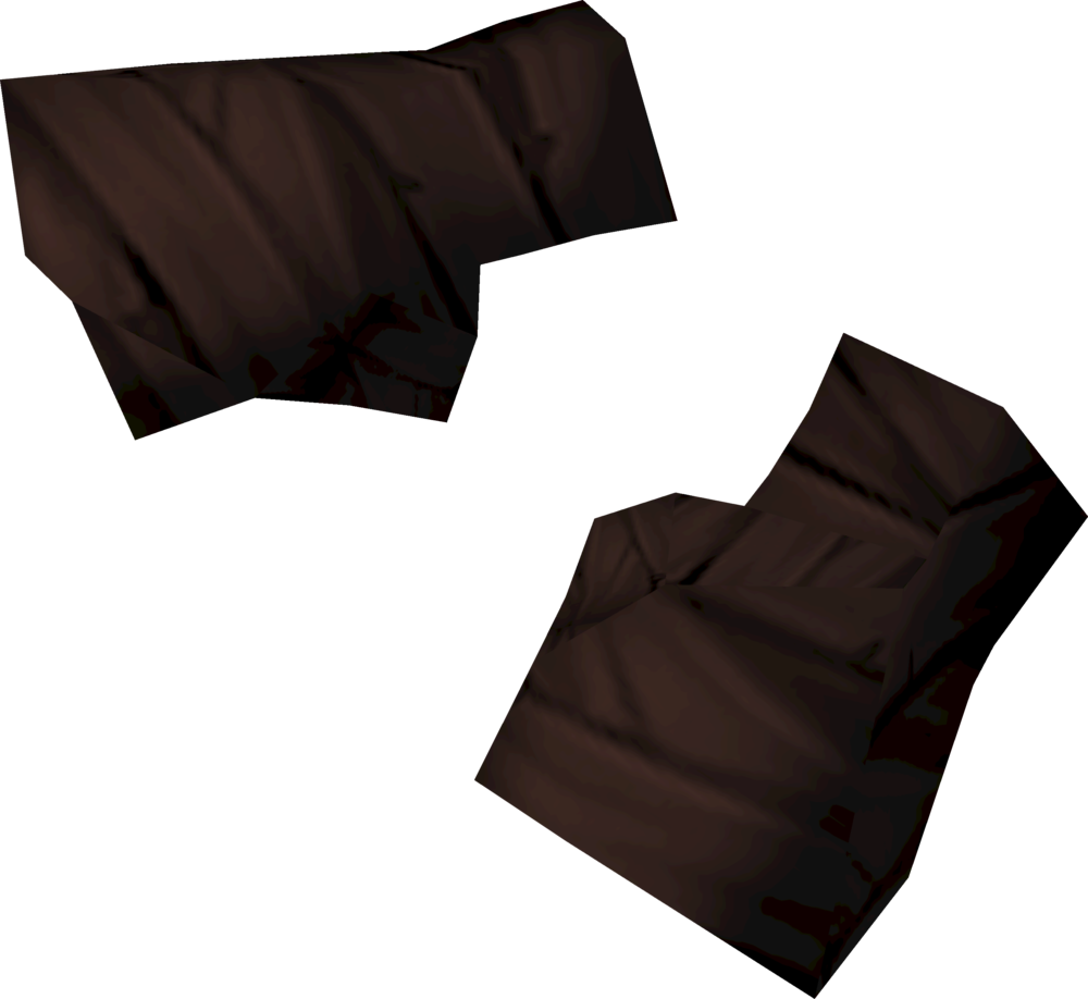 Shaman's hand wraps detail