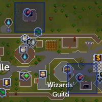 Yanille Agility dungeon entrances locations