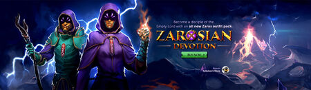 Zarosian Devotion head banner