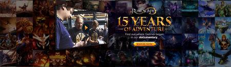 15 Years of Adventure head banner