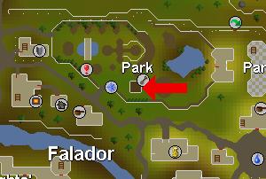 Falador puisto puu
