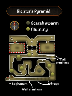 Klenter's Pyramid map