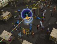 Portal opening