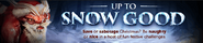 Up to Snow Good Lobby Banner