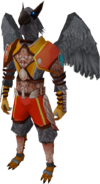 Aviansie Skyguard outfit equipped (male)