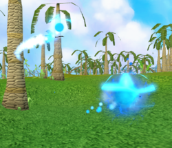 Enriched gleaming wisp