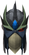 Full slayer helmet (uncharged) (green) detail