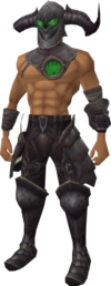 New Varrock Arrav outfit equipped