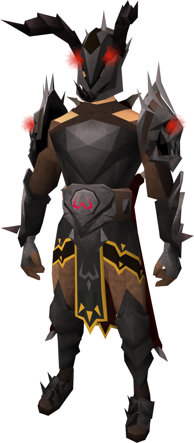 Shadow Demon Outfit Runescape Wiki Fandom Powered By Wikia