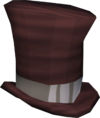 Top hat (red) detail