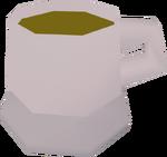 Xícara de chá detalhe