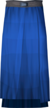Academy magic robe skirt detail