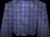 Blue robe top