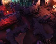 Infiltrating Sliske's lair