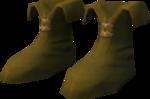 Ranger boots (yellow) detail