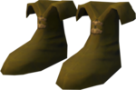 Ranger boots (yellow) detail