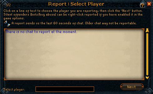 Report step 1