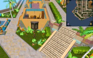 Scan clue Menaphos Imperial district east of musician