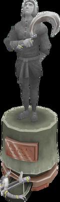 Vertida Sefalatis statue