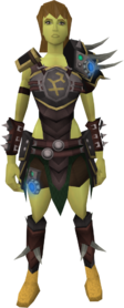 Augmented Bandos armour equipped (female)