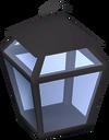 Candle lantern (empty) detail