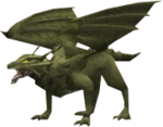 Clan dragon green