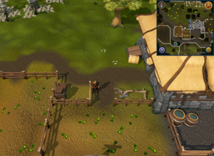 Compass clue Varrock south-east of Varrock lodestone