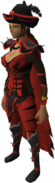 Dragon ceremonial set equipped