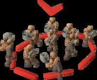 Dwarf squad (light) (red)