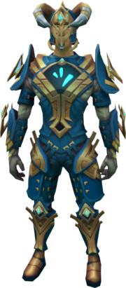 Frozen gorajan trailblazer outfit equipped