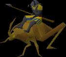 Locust rider melee old