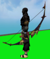 Longbow of Diamonds equipped.png