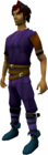 Ranger boots (blue) equipped.png