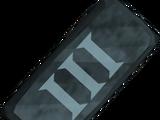 Rune ingot III