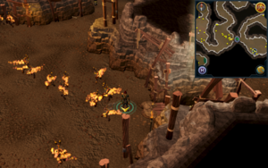 Scan clue Fremennik Slayer Dungeon west of shortcut between cave crawler and pyrefiend chambers