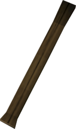 Hatchet handle detail