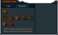 RuneScape Road Trip journal rewards interface