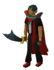 Rune scimitar equipped old 2