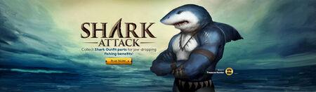 Shark Attack head banner