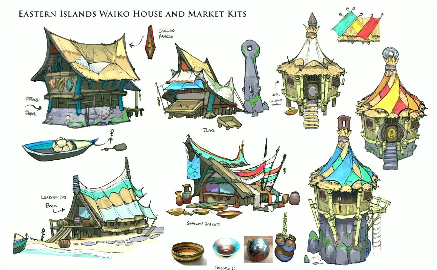 Image waiko houses concept runescape wiki for Concept house