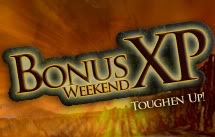 Bonus xp weekend en