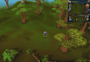 Compass clue Varrock south of Cooks' Guild