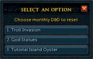 D&D token (monthly) options