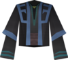 Dervish robe (blue, male) detail