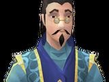 Pompous merchant