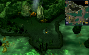 Scan clue Lumbridge Swamp Caves by Lumbridge Swamp entrance