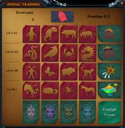 Zodiac card interface