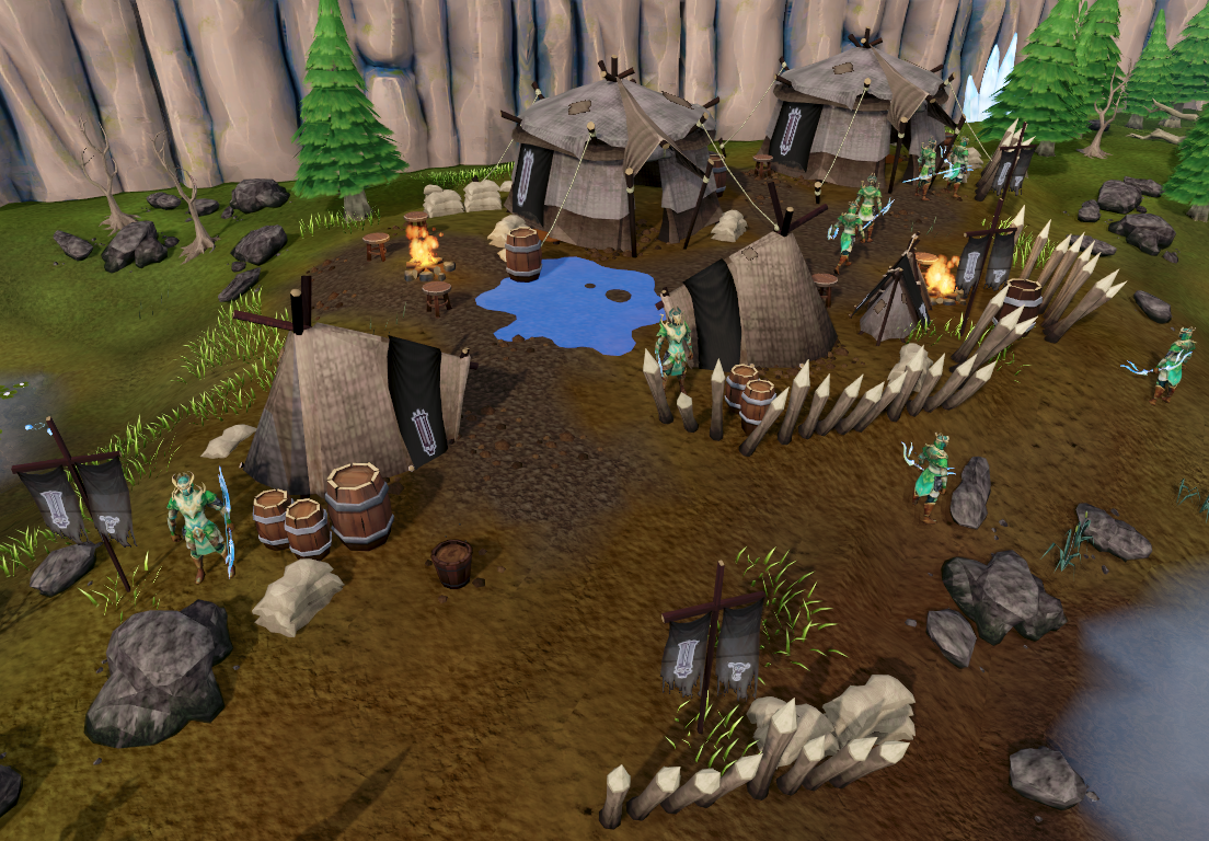 Elf Camp Runescape Wiki Fandom Powered By Wikia
