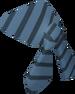 Pirate bandana (blue) detail